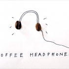 HEADPHONES of coffee