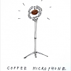 Coffee microphone